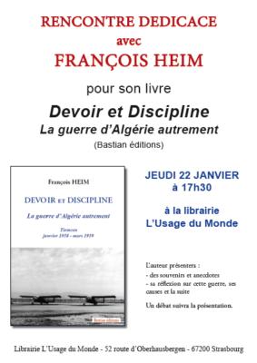 Devoir et discipline François Heim