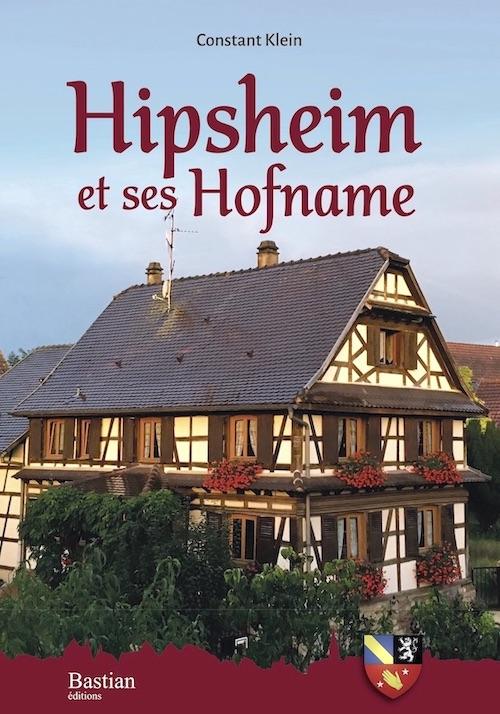 Livre sur Hipsheim Constant Klein